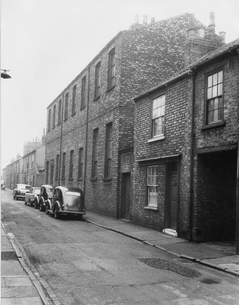 Terraced street